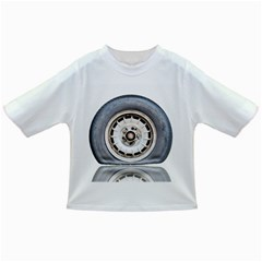 Flat Tire Vehicle Wear Street Infant/toddler T Shirts