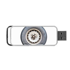 Flat Tire Vehicle Wear Street Portable Usb Flash (one Side)
