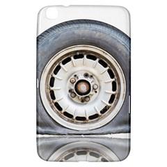 Flat Tire Vehicle Wear Street Samsung Galaxy Tab 3 (8 ) T3100 Hardshell Case