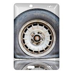 Flat Tire Vehicle Wear Street Amazon Kindle Fire Hd (2013) Hardshell Case