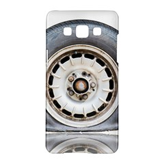 Flat Tire Vehicle Wear Street Samsung Galaxy A5 Hardshell Case
