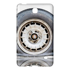 Flat Tire Vehicle Wear Street Samsung Galaxy Tab 4 (8 ) Hardshell Case