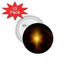 Background Christmas Star Advent 1 75  Buttons (10 Pack)