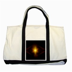 Background Christmas Star Advent Two Tone Tote Bag