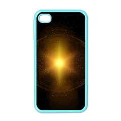 Background Christmas Star Advent Apple Iphone 4 Case (color)