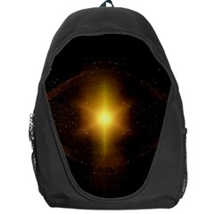 Background Christmas Star Advent Backpack Bag