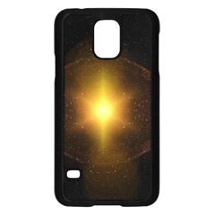Background Christmas Star Advent Samsung Galaxy S5 Case (black)