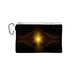 Background Christmas Star Advent Canvas Cosmetic Bag (s)