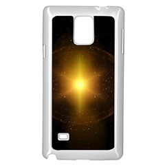 Background Christmas Star Advent Samsung Galaxy Note 4 Case (white)