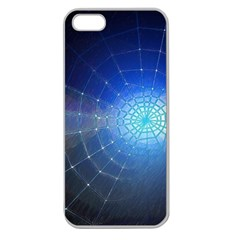 Network Cobweb Networking Bill Apple Seamless Iphone 5 Case (clear)