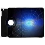 Network Cobweb Networking Bill Apple iPad Mini Flip 360 Case Front