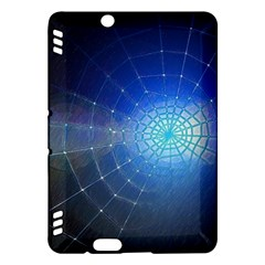 Network Cobweb Networking Bill Kindle Fire Hdx Hardshell Case