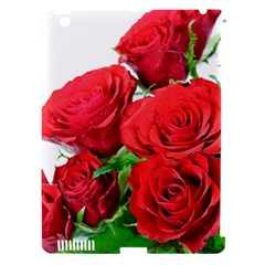 A Bouquet Of Roses On A White Background Apple Ipad 3/4 Hardshell Case (compatible With Smart Cover)