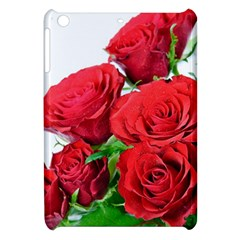 A Bouquet Of Roses On A White Background Apple Ipad Mini Hardshell Case