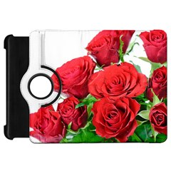 A Bouquet Of Roses On A White Background Kindle Fire Hd 7