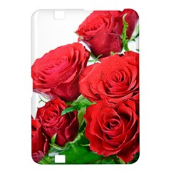 A Bouquet Of Roses On A White Background Kindle Fire Hd 8 9