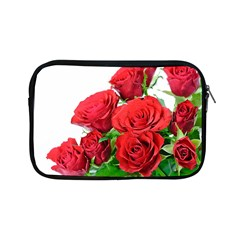 A Bouquet Of Roses On A White Background Apple Ipad Mini Zipper Cases