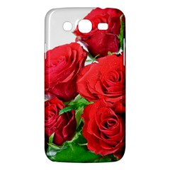A Bouquet Of Roses On A White Background Samsung Galaxy Mega 5 8 I9152 Hardshell Case
