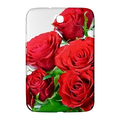 A Bouquet Of Roses On A White Background Samsung Galaxy Note 8 0 N5100 Hardshell Case