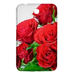 A Bouquet Of Roses On A White Background Samsung Galaxy Tab 3 (7 ) P3200 Hardshell Case