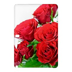 A Bouquet Of Roses On A White Background Samsung Galaxy Tab Pro 10 1 Hardshell Case