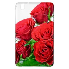 A Bouquet Of Roses On A White Background Samsung Galaxy Tab Pro 8 4 Hardshell Case