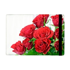 A Bouquet Of Roses On A White Background Ipad Mini 2 Flip Cases