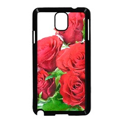 A Bouquet Of Roses On A White Background Samsung Galaxy Note 3 Neo Hardshell Case (black)