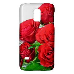 A Bouquet Of Roses On A White Background Galaxy S5 Mini