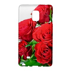 A Bouquet Of Roses On A White Background Galaxy Note Edge