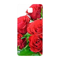 A Bouquet Of Roses On A White Background Samsung Galaxy Alpha Hardshell Back Case