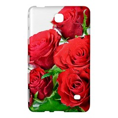 A Bouquet Of Roses On A White Background Samsung Galaxy Tab 4 (7 ) Hardshell Case