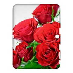 A Bouquet Of Roses On A White Background Samsung Galaxy Tab 4 (10 1 ) Hardshell Case