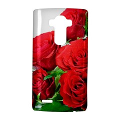 A Bouquet Of Roses On A White Background Lg G4 Hardshell Case