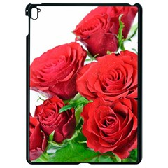A Bouquet Of Roses On A White Background Apple Ipad Pro 9 7   Black Seamless Case