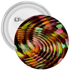 Wave Rings Circle Abstract 3  Buttons