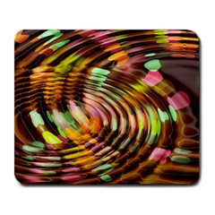 Wave Rings Circle Abstract Large Mousepads