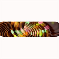Wave Rings Circle Abstract Large Bar Mats