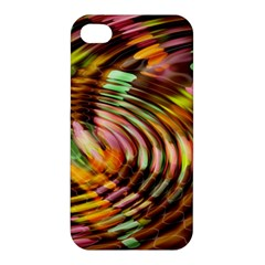 Wave Rings Circle Abstract Apple Iphone 4/4s Hardshell Case