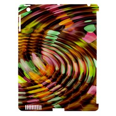 Wave Rings Circle Abstract Apple Ipad 3/4 Hardshell Case (compatible With Smart Cover)