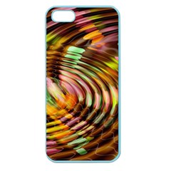 Wave Rings Circle Abstract Apple Seamless Iphone 5 Case (color)