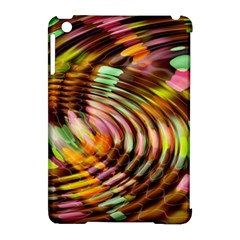 Wave Rings Circle Abstract Apple Ipad Mini Hardshell Case (compatible With Smart Cover)