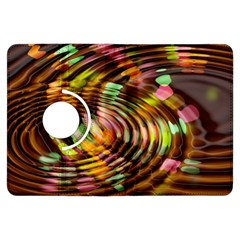 Wave Rings Circle Abstract Kindle Fire Hdx Flip 360 Case
