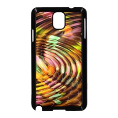Wave Rings Circle Abstract Samsung Galaxy Note 3 Neo Hardshell Case (black)