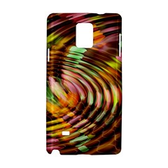 Wave Rings Circle Abstract Samsung Galaxy Note 4 Hardshell Case