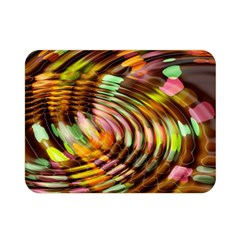 Wave Rings Circle Abstract Double Sided Flano Blanket (mini)