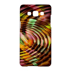 Wave Rings Circle Abstract Samsung Galaxy A5 Hardshell Case