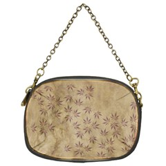 Parchment Paper Old Leaves Leaf Chain Purses (two Sides)