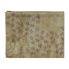 Parchment Paper Old Leaves Leaf Cosmetic Bag (xl)