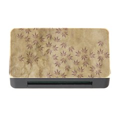 Parchment Paper Old Leaves Leaf Memory Card Reader With Cf